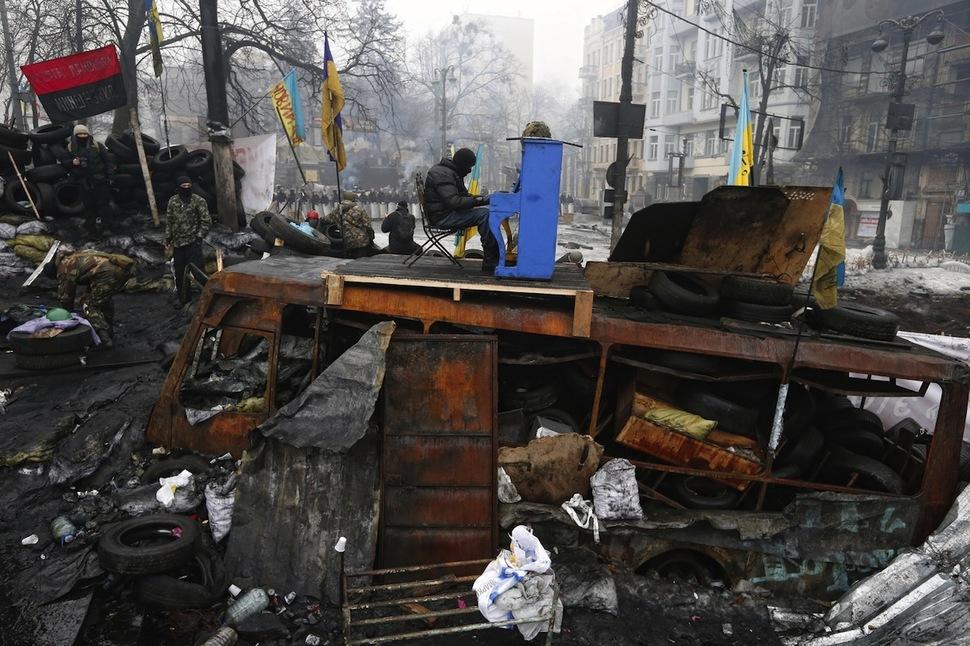 Ukraine. Kiev. Euromaidan.
